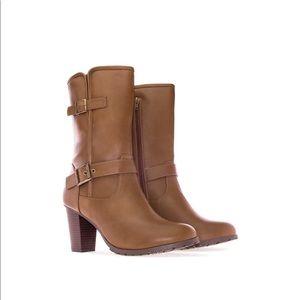 Tan Mid Calf Boots